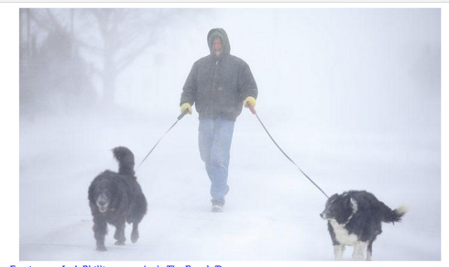"""El almanaque del viejo granjero predice el invierno """"cargado de nieve"""" en gran parte de los EE. UU."""