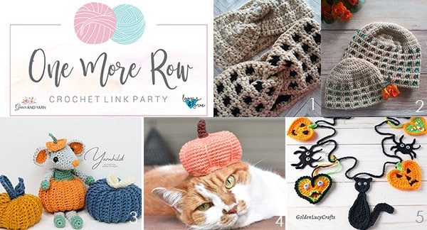 One More Row - Free Crochet Link Party #24