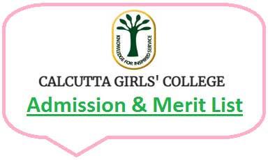 Calcutta Girls' College Merit List