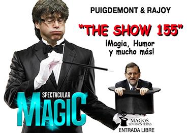 el villano arrinconado, humor, chistes, reir, satira, Puigdemont, Rajoy