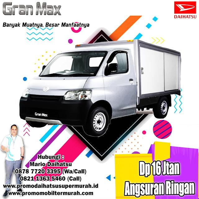 promo daihatsu gran max pick up box