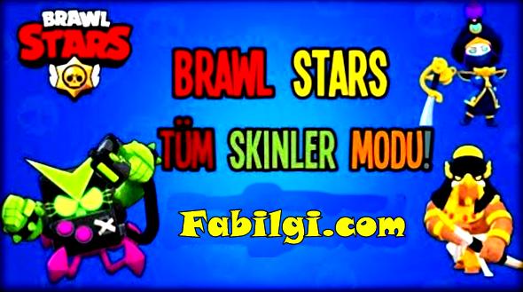 Brawl Stars Bütün Skinlerle Oynama Modu Hileli İndir Ekim 2020