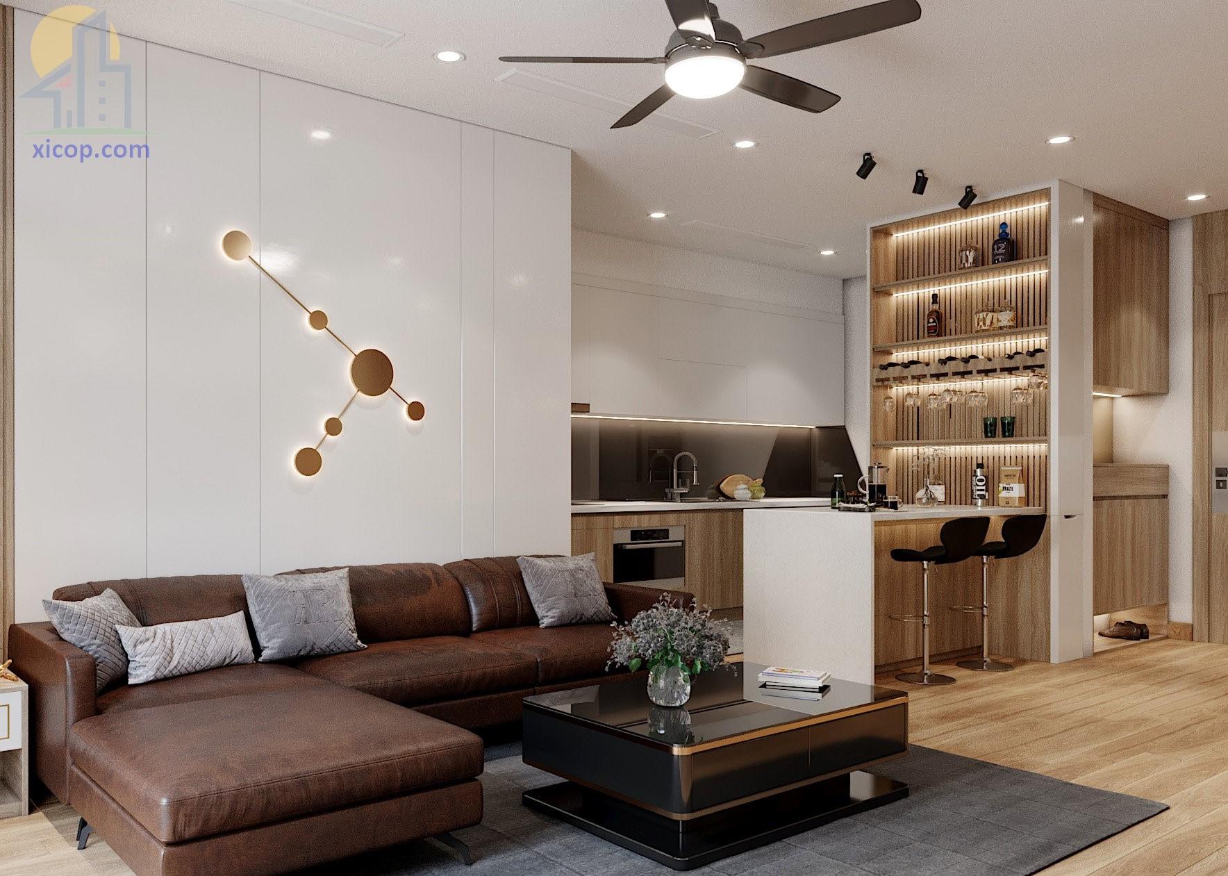 Nội thất nhà phố hiện đại các kiểu thiết kế đẹp số 1