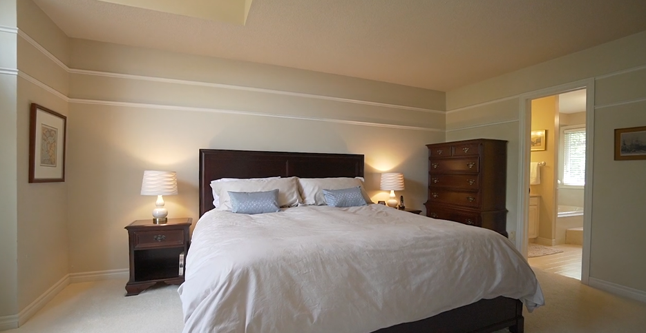 Carriage Hill Project Reveal - master bedroom