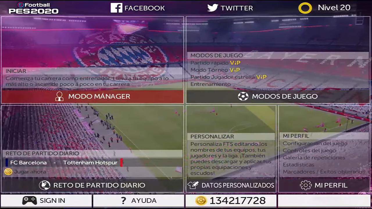 FTS Mod eFootball PES 2020 Season 2019/2020 ~ PESNewupdate