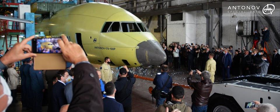 Антонов завершив складання фюзеляжу першого Ан-178-100Р для Міноборони