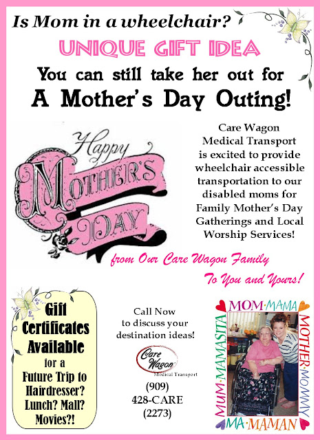 Unique Mother's Day Gift Idea For Our 'Disabled' Moms & Grandmas!