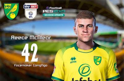 PES 2021 Faces Reece McAlear by CongNgo