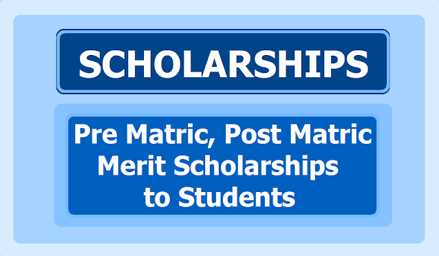Pre Metric and Post Metric Scholarships 2020