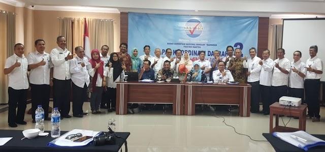 Diubah Instrumen Penilaian Akreditasi, BAN SM Banten Akan Sosialisasikan