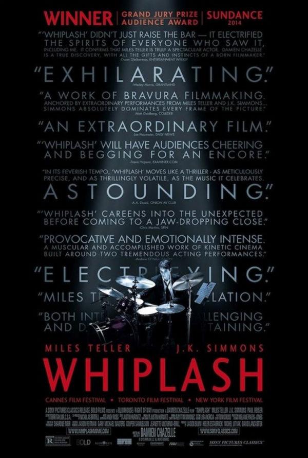 Capa do Filme Whiplash: Em Busca da Perfeição