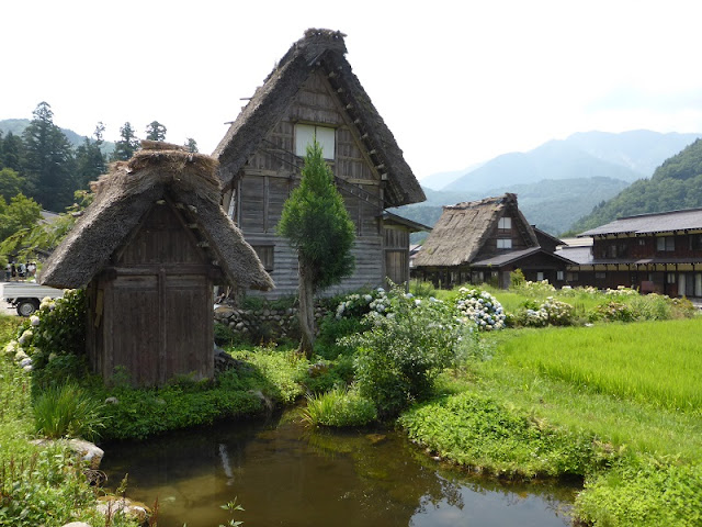 Casas en Shirakawa-go