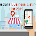 Top 300+ Free Business Listing Sites List Australia, Best Australian Business Listings
