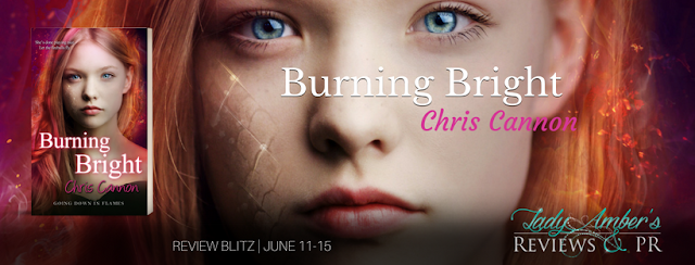 {Review} Burning Bright (Going Down in Flames #5) by Chris Cannon