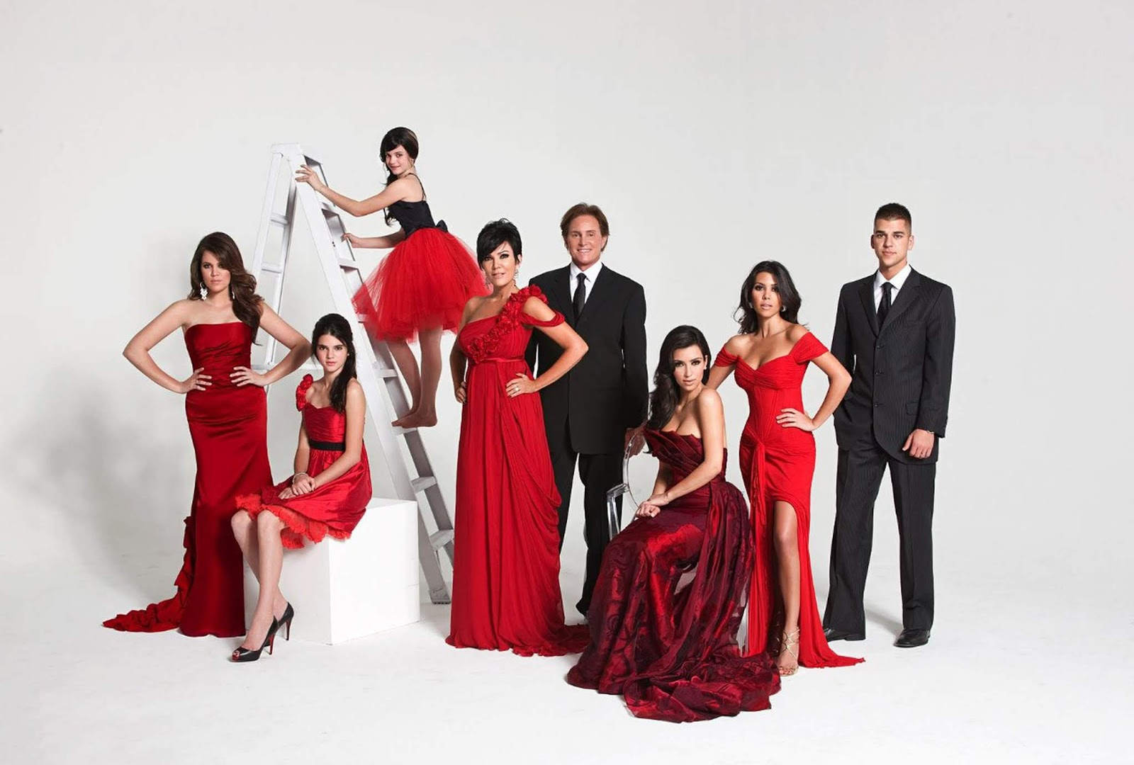 The Kardashians Christmas Card 2008