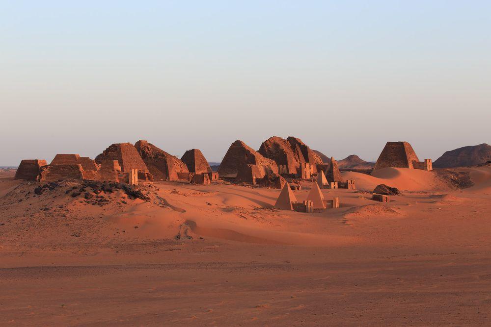 Pyramids of Meroë