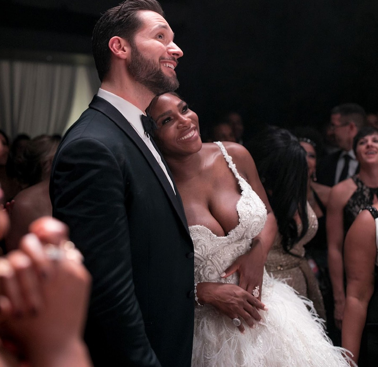 SERENA WILLIAMS, ALEXIS OHANIAN WEDDING 6