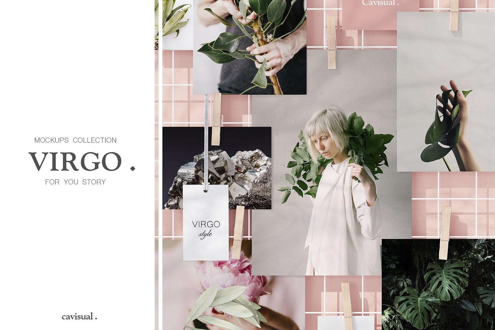 Virgo Mockups Collection