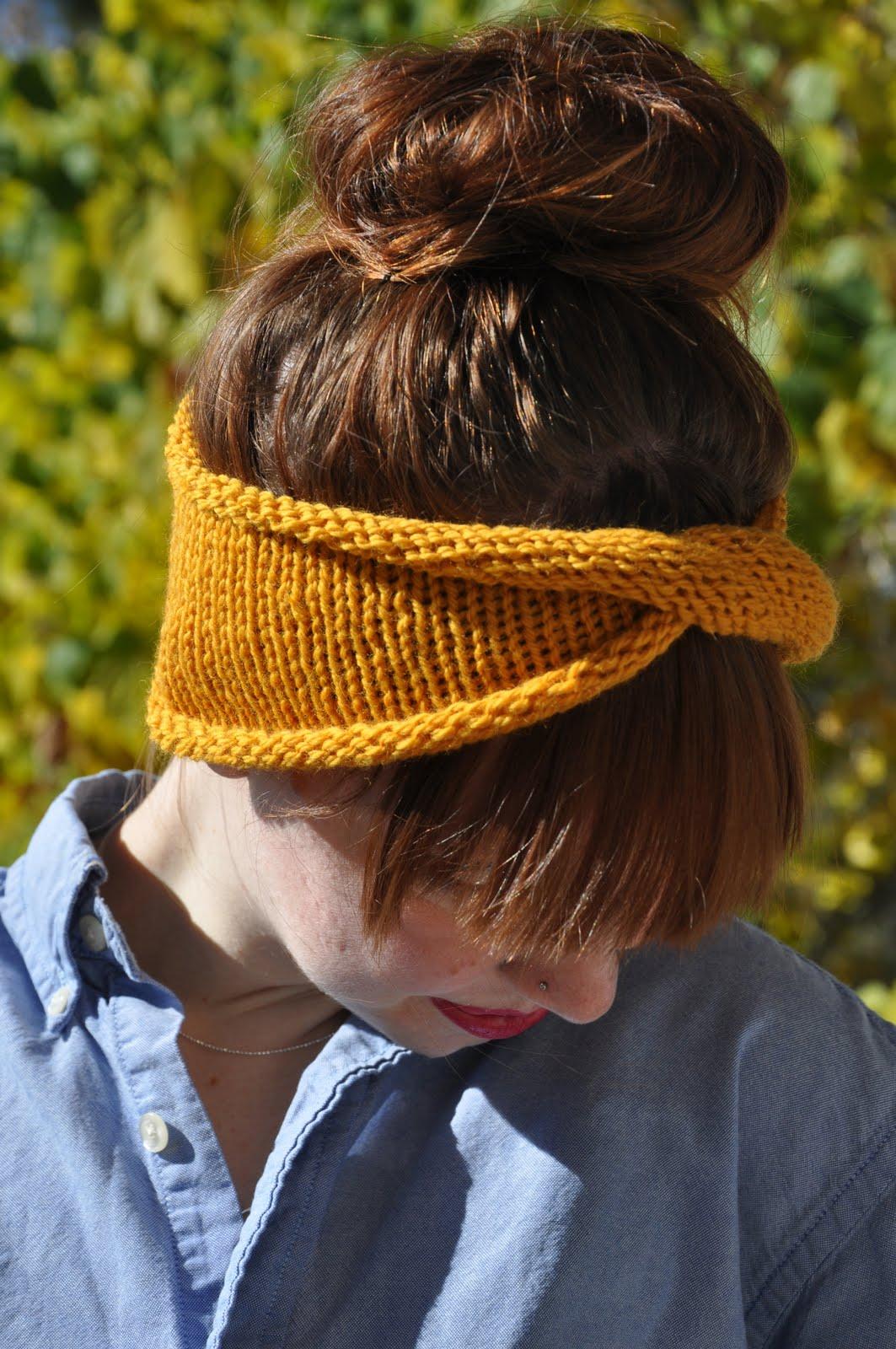 Twist Turban Headband Diy