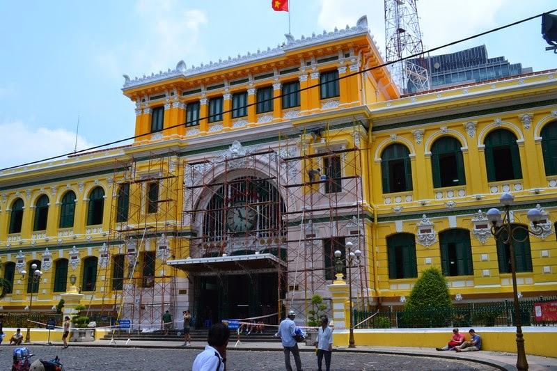 Ho Chi Minh, poste