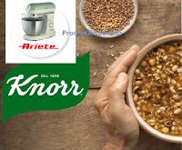 """Concorso """"Buon Cibo Knorr"""" : vinci 75 Impastatrici Planetarie Vintage Ariete"""