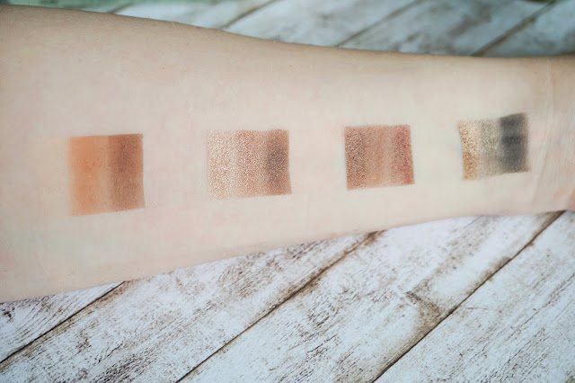 stila - Eyes are the Window Shadow Palette in Soul Swatches