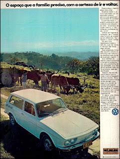 propaganda Variant - 1973, propaganda Volkswagen - 1973, vw anos 70, carros Volkswagen década de 70, anos 70; carro antigo Volks, década de 70, Oswaldo Hernandez,