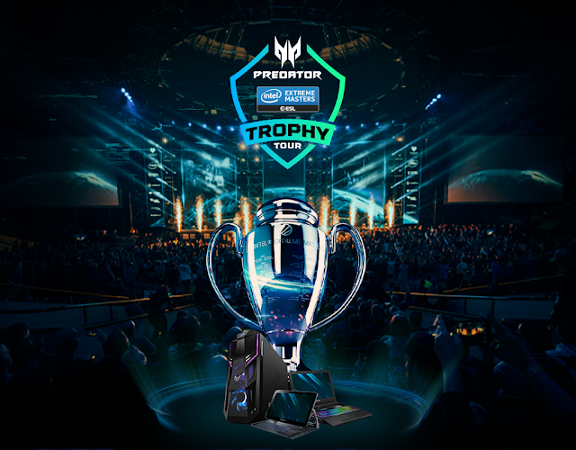 The #PredatorGaming Intel Extreme Masters Trophy Returns to the of Home of #eSports @AcerAfrica