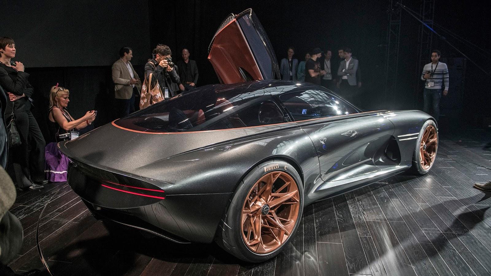 Automotiveblogz Genesis Essentia Concept New York 2018