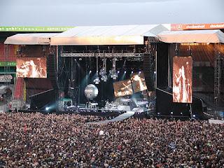 Fotografía de un concierto de Depeche Mode en Bremen, Alemania, en 2006