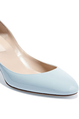 Valentino Powder Blue Low Heels