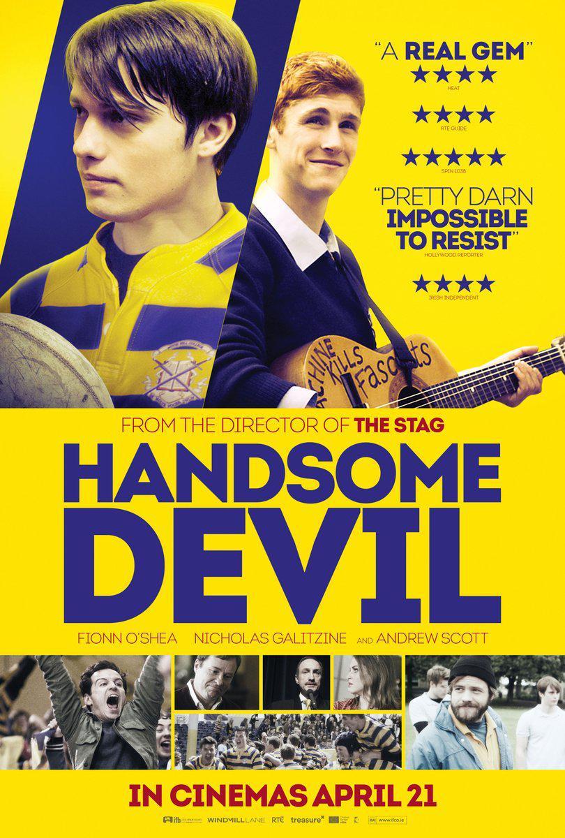 462 Handsome Devil (2016) 達陣好基友(臺) 帥氣的惡魔(中)