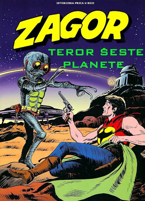 Teror seste planete (Kolor) - Zagor