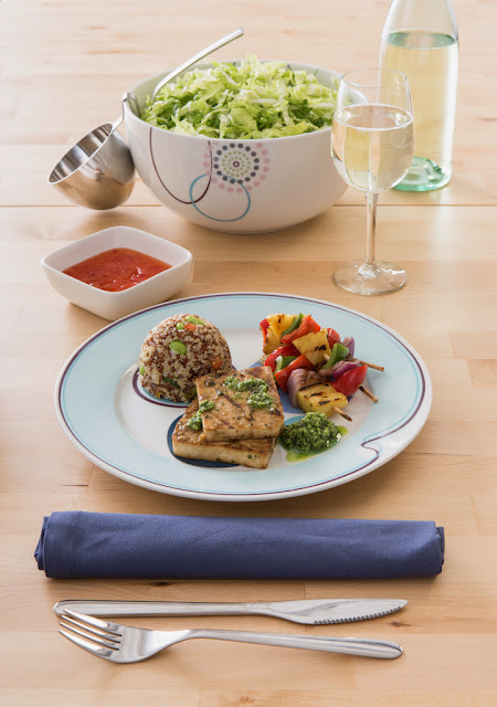 Livliga is a system of tableware for a healthy lifestyle