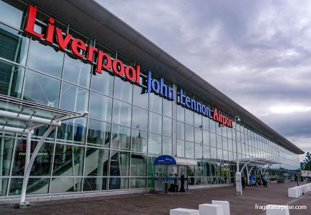 Aeroporto John Lennon de Liverpool, Inglaterra