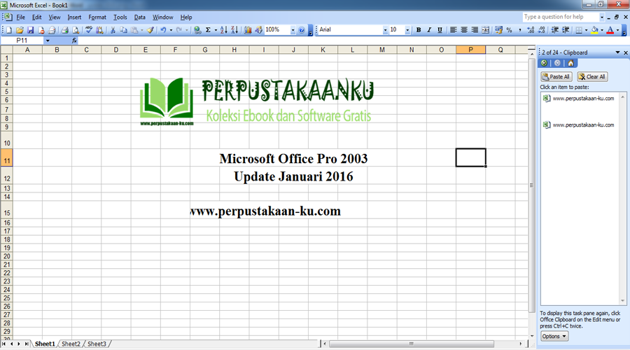 Microsoft Office 2003 Excel Templates