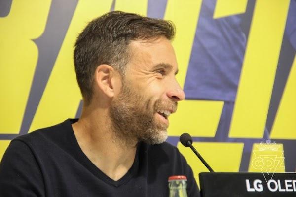 Oficial: Cádiz B,  Alberto Cifuentes nuevo entrenador