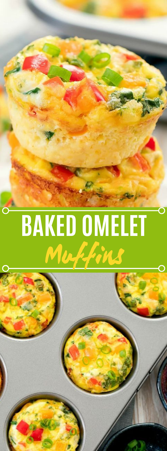 Omelet Muffins #healthy #breakfast