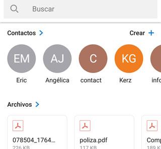 Como usar la búsqueda inteligente de la app de correo Outlook