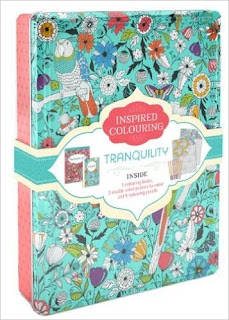 inspired coloring-tranquility set