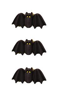 3D Buttons - Bats