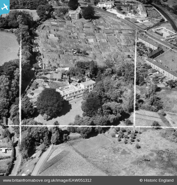 Aerial Photo of Greenway Convent (1953)