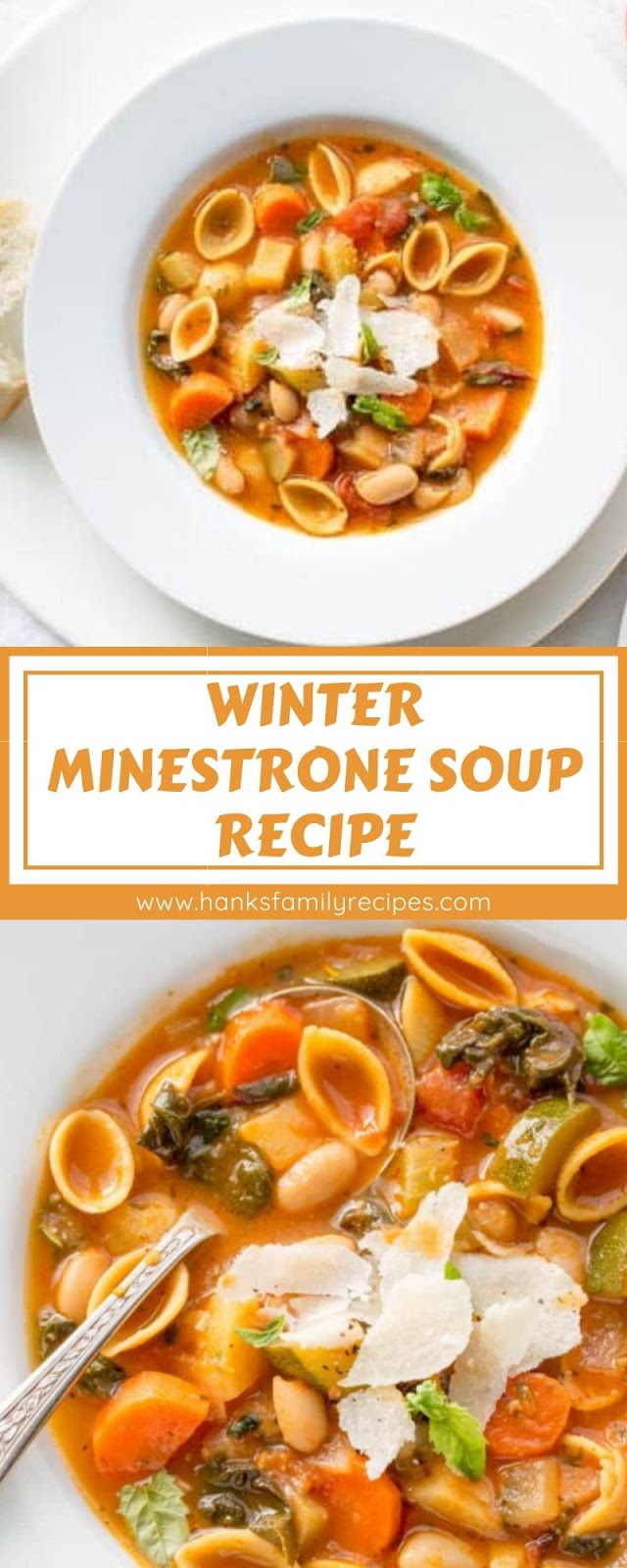 WINTER MINESTRONE SOUP RECIPE
