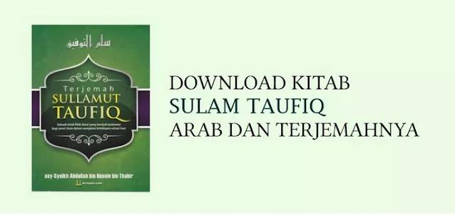 Download Kitab Sulam Taufiq Arab dan Terjemahnya (PDF)