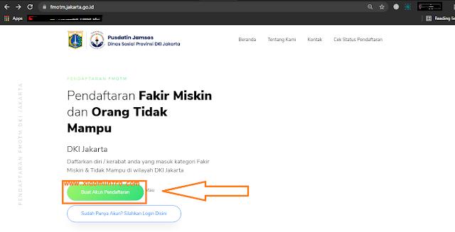 Cara Daftar DTKS Secara Online
