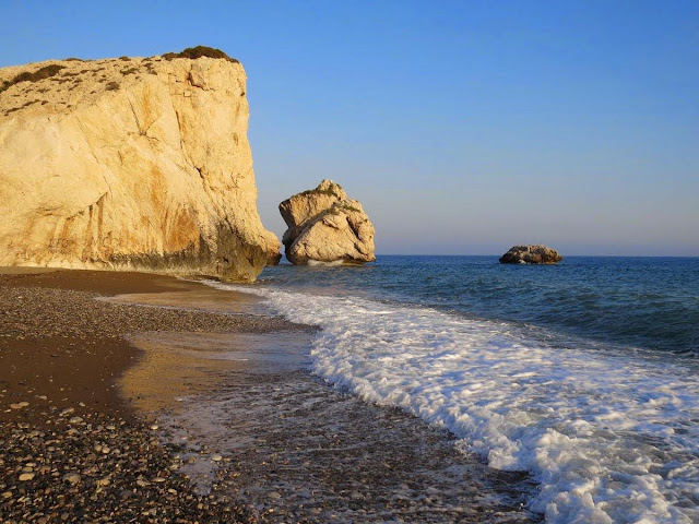 One Week in Cyprus Road Trip Itinerary: Aphrodite's Rock