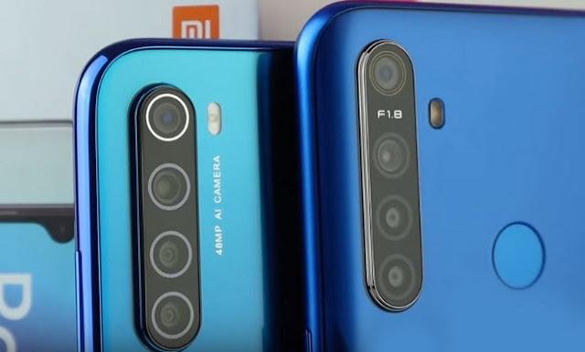 مقارنة بين Realme 5 و Xiaomi Note 8