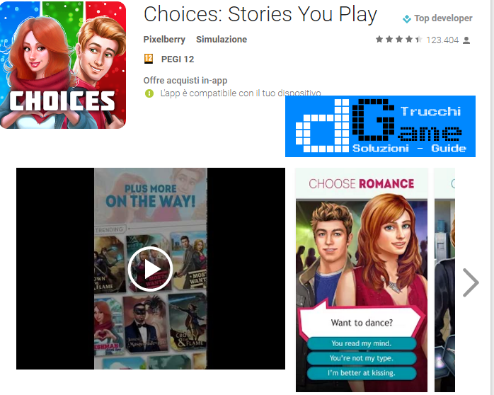 Trucchi  Choices: Stories You Play Mod Apk Android v1.4.1