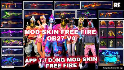 MOD SKIN FF - HƯỚNG DẪN MOD FULL ĐỒ VIP V4 FREE FIRE MAX VÀ THƯỜNG VÀO TRẬN NHANH KHÔNG LỖI OB27
