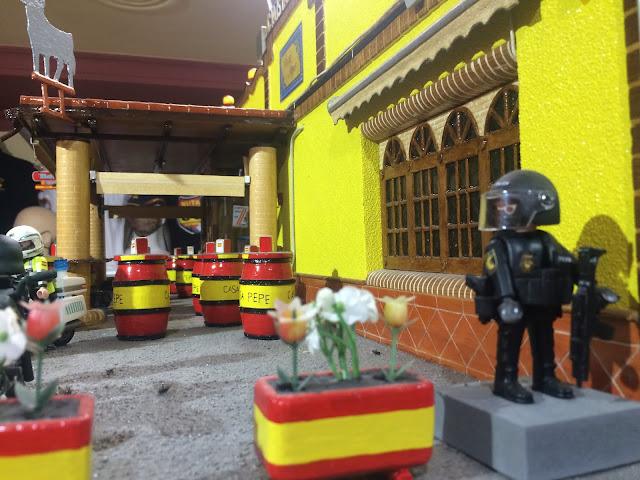 Diorama playmobil Casa Pepe Despeñaperros